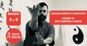 Lezione Aperta e Gratuita: Arti Marziali @ TaoYin Modena