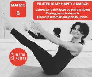 Laboratorio Aperto ad Offerta libera di Pilates per la Festa della Donna @ TaoYin Modena
