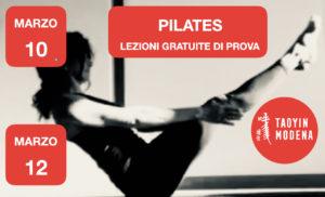 Lezione Aperta e Gratuita: PILATES @ TaoYin Modena