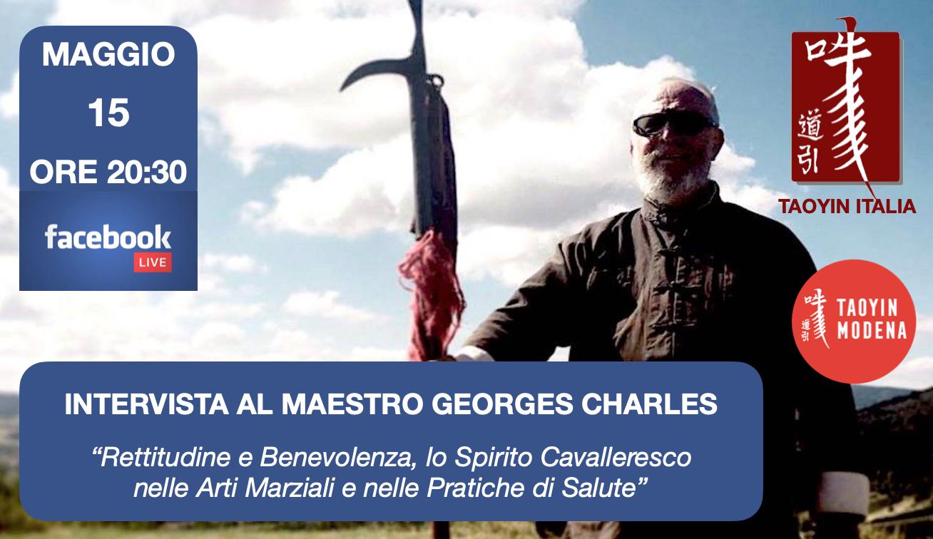 Facebook Live Intervista al M°Georges Charles